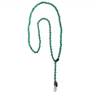 AVENTURINE & CRYSTALS NECKLACE