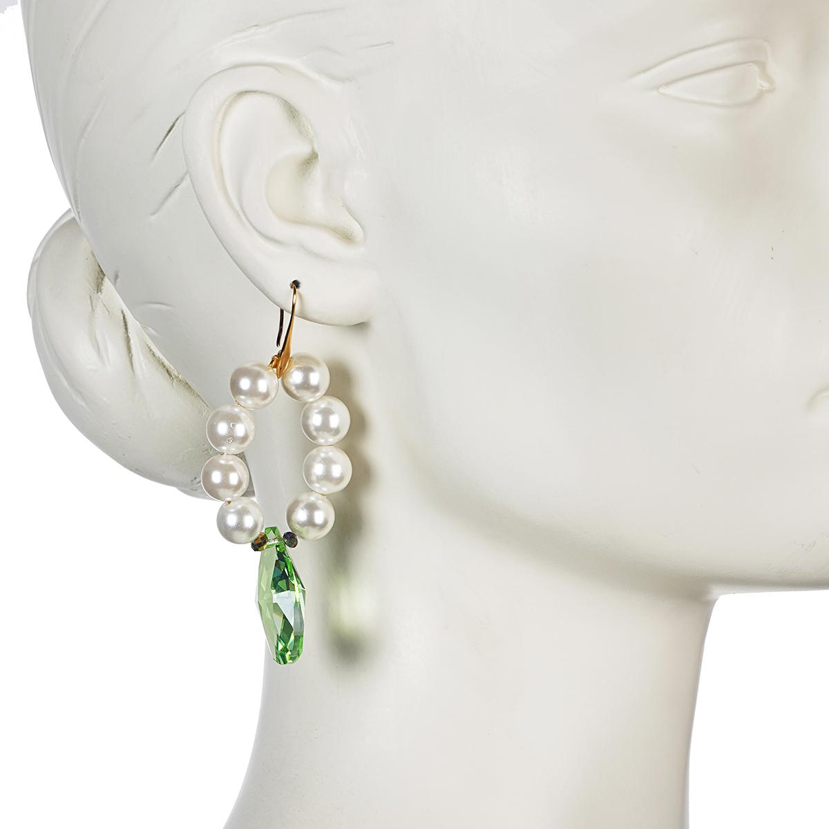 FRESHWATER PEARLS HOOP EARRINGS 3